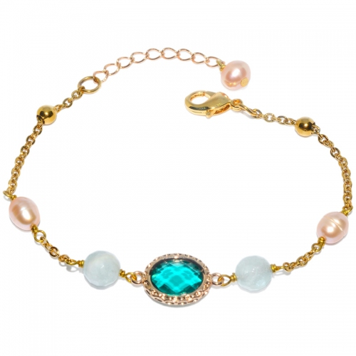 Fresh Water Pearl Chic Princess Mix Bracelet