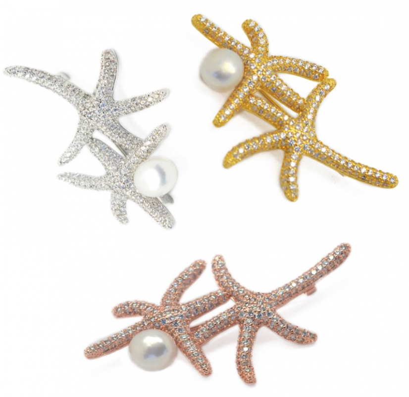 Fresh Water Pearl Starfish